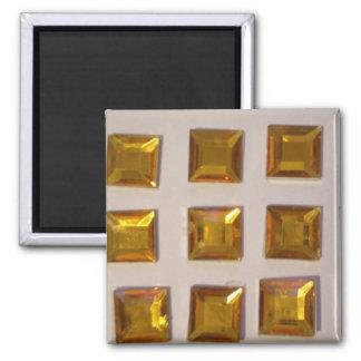 Patterns of color magnet
