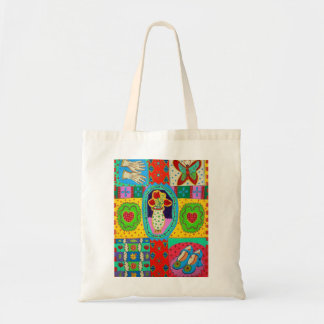 Patterns of Life Budget Tote Bag