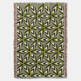 Patterns, petals and...flowers throw blanket