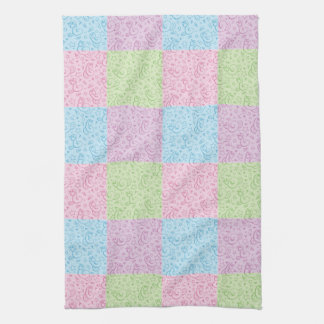 patterns with snakes kitchen towel
