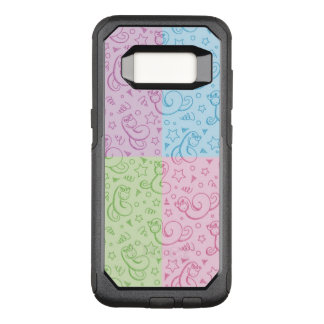 patterns with snakes OtterBox commuter samsung galaxy s8 case