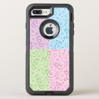 patterns with snakes OtterBox defender iPhone 8 plus/7 plus case
