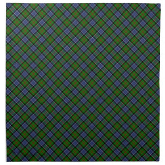Patterson Clan Tartan Designed Print Napkin
