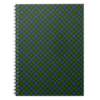 Patterson Clan Tartan Designed Print Notebooks