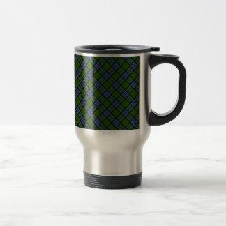 Patterson Clan Tartan Designed Print Travel Mug