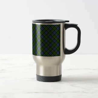 Patterson Clan Tartan Designed Print Travel Mug