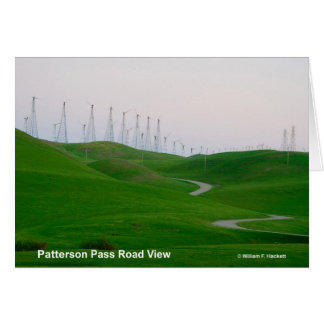 Patterson Pass Road California Products Greeting Card
