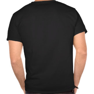 Patton and quote - black - on back tshirt