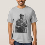 Patton and quote - grey shirt