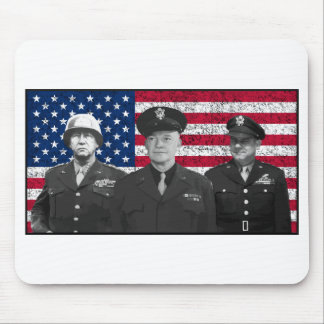 Patton, Eisenhower, and Doolittle Mouse Pad