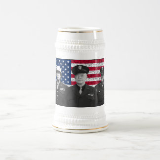 Patton, Eisenhower, and Doolittle Coffee Mugs