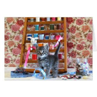 Patton - Sew Sew Good Card