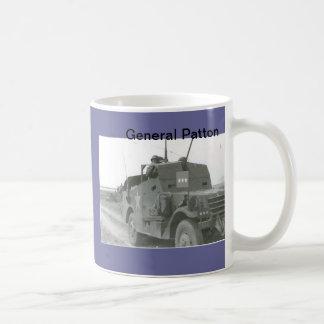 Pattons-M3A1-scout-car-1 Basic White Mug