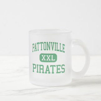 Pattonville - Pirates - High - Saint Ann Missouri Frosted Glass Coffee Mug