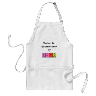 Patty periodic table name apron