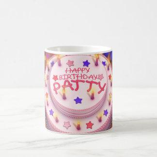 Patty's Birthday Cake Coffee Mugs