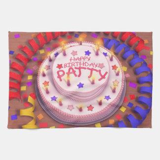 Patty's Birthday Cake Towels