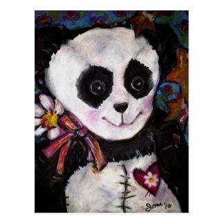 Patty's Panda Postcard