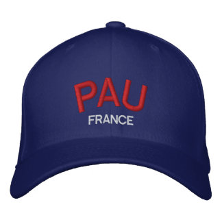 Pau France Personalized Adjustable Hat Embroidered Baseball Caps