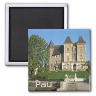 Pau Square Magnet