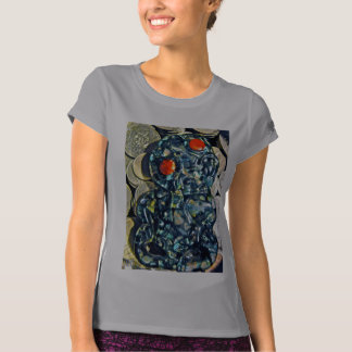 Paua Tiki and Money T-Shirt