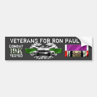 Paul 19K Armour 16Nov2011 Bumper Sticker