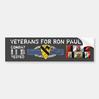 Paul 1stCav Infantry 14Nov2011 Bumper Sticker