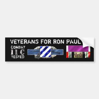 Paul 3rd Infantry 18Nov2011 Bumper Sticker