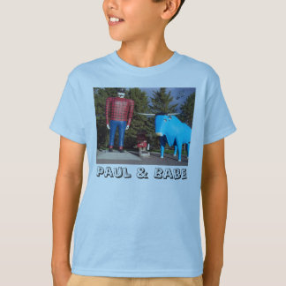 """Paul & Babe"" Boy's T-Shirt"
