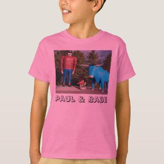 """Paul & Babe"" Girls T-Shirt"