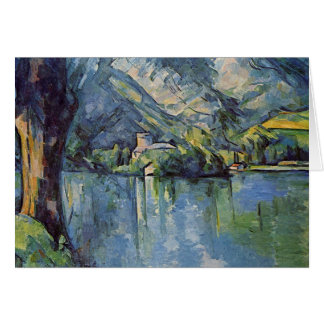 Paul Cézanne - Annecy Lake Card