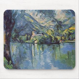 Paul Cézanne - Annecy Lake Mouse Mat
