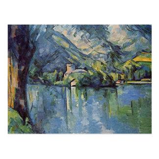 Paul Cézanne - Annecy Lake Postcard