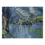 Paul Cezanne - Annecy Lake Poster