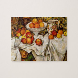 Paul Cézanne - Apples and Oranges Jigsaw Puzzle