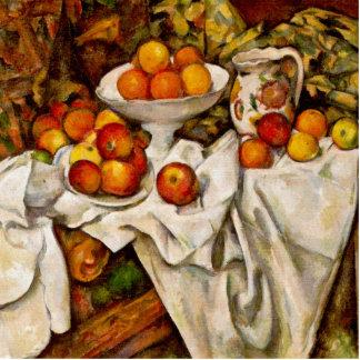 Paul Cézanne - Apples and Oranges Photo Cutouts