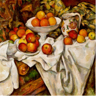 Paul Cézanne - Apples and Oranges Standing Photo Sculpture