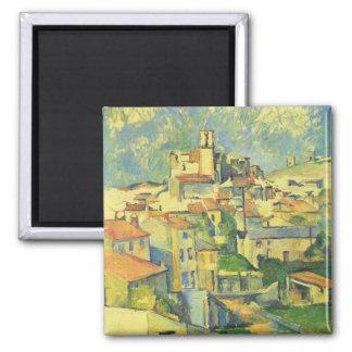 Paul Cezanne Art Square Magnet