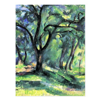Paul Cezanne Artwork Postcard