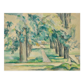 Paul Cezanne - Avenue of Chestnut Trees Postcard