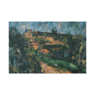 Paul Cezanne - Bend Of The Road Canvas Prints