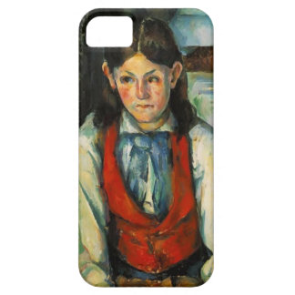 Paul Cezanne- Boy in a Red Vest Case For The iPhone 5