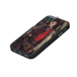 Paul Cezanne- Boy in a Red Vest Case For iPhone 5/5S