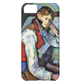 Paul Cezanne- Boy in a Red Vest Case For iPhone 5C