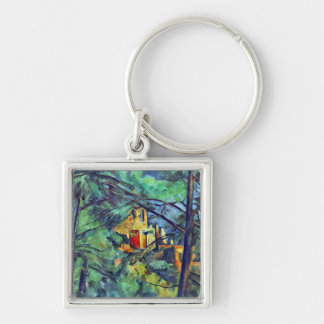 Paul Cezanne - Chateau Noir Keychain