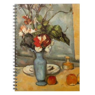 Paul Cezanne Fine Art Still Life Skulls Spiral Notebook