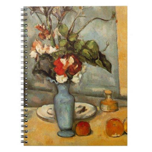 Paul Cezanne Fine Art Still Life, Skulls Spiral Notebook
