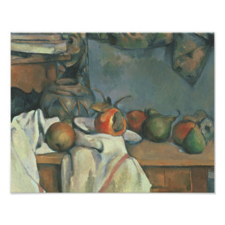 Paul Cezanne - Ginger Pot with Pomegranate Photo Art