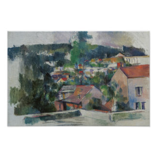 Paul Cezanne - Landscape Poster