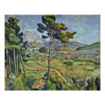 Paul Cezanne - Landscape with Viaduct Posters